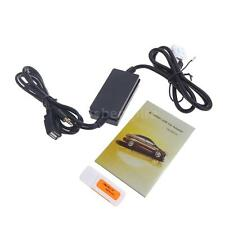Car USB Aux-in Adapter MP3 Radio Interface For VW Golf Jetta Passat 12 Pin J2Y9