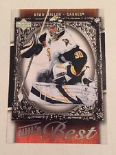 2007-08 Upper Deck Ryan Miller Nhl's Best #B13 Hockey Card Nr/Mt-Mt