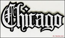 CHICAGO CITY EMBROIDERY PATCH IRON ON ~~ US SELLER ~ FREE SHIPPING ~~
