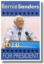 Bernie Sanders for President (Blue) - NEW USA American Political Election POSTER
