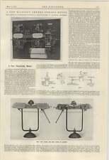 Planta de limpieza 1924 Caldera de humos Liverpool Nuevo Medidor de electricidad