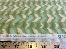 SALT AIR- SEAFOAM-FISH TAILS # 37026-23 BY COSMO CRICKET FOR MODA- BY THE YARD