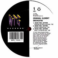 "12"" - Criminal Element Orchestra - House Time..(LISTEN)"