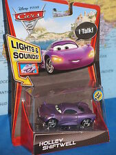 DISNEY PIXAR CARS 2 TALKING HOLLEY SHIFTWELL LIGHTS & SOUNDS *BRAND NEW & RARE*