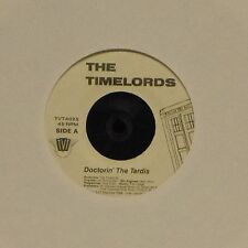 """THE TIMELORDS 'DOCTORIN' THE TARDIS' US IMPORT 7"""" SINGLE"""