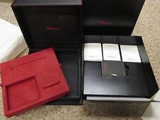 Chopard 94200-0137 Pen Purse & Cufflink Gift Box Set & Various Booklets & Folder