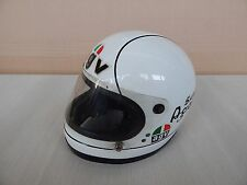 CASCO AGV SUPER AGO CON INTERFONO EPOCA MV AGUSTA HELMET FOUR SUZUKI HONDA ETC