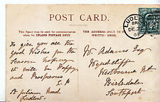 Genealogy Postcard - Family History - Adams - Birkdale - Southport   MB554