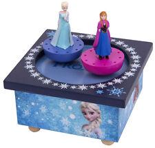 Trousselier S95430 Musikalische Hölzerne Spieluhr Frozen Elsa & Anna Neu & OVP
