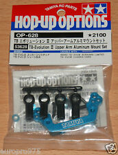 Tamiya 53628 TB Evolution III Upper Arm Aluminum Mount Set (TB02/TB Evo 3), NIP