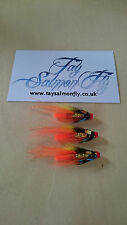 "3x 1/2"" Ghillie Copper Tube Salmon Fishing Fly FREE POSTAGE"