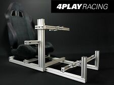 4 PLAY RACING Video Game Seat Simulator Sim Rig Cockpit for iRacing Wheel Setup