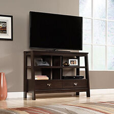 NEW Sauder Furniture 416955 Trestle Collection Anywhere Console TV Media Stand