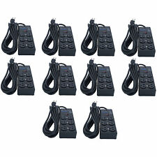 10 Units Furman SS-6B Pro Plug 6 Outlet AC Surge Power Strip Conditioning