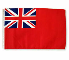 "12x18 12""x18"" British Red Ensign Sleeve Flag Boat Car Garden"
