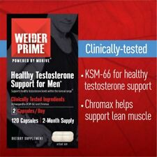 Weider Prime Testosterone Support, 120 Capsules