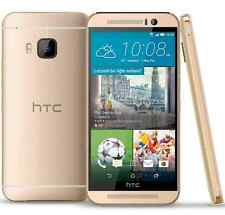 Amber Gold 5'' Unlocked HTC One M9 32GB 3 RAM 20MP Android OS 4G LTE Cellphone
