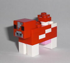 LEGO Minecraft - Pilzkuh - Figur Minifig Mooshroom Ideas Cow Creeper Mine 21116