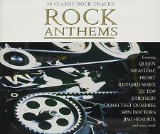 Rock Anthems 38 Classic Tracks Hits Volume 1 Audio Music CD New
