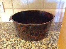 Vintage BOLTALITE Bakelite Huge Stock Pot Bowl Cafeteria Industrial Rare Size