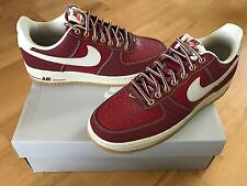 NIKE Air Force One Low Mens Trainers, Team Red - Size 7