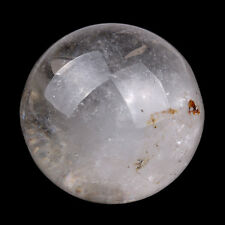 35MM Natural Tumbled Clear Quartz Carved Crystal Sphere Ball Healing Crafts