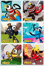 LEGO MIXELS Stickers x 6 - Favours, Loot Bag, Birthday Supplies - Party/Rewards