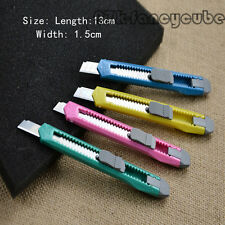 Hot Sale Box Cutter Utility Knife Snap Off Retractable Razor Blade Knife 97F