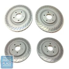 2006-2010 Chevrolet Corvette C6 / Z06 Drilled Brake Rotors - GM