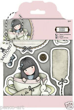 Docrafts Papermania urban rubber stamp set Santoro's Gorjuss Sweet tea