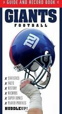 Giants Football (Guide and Record Book), Walsh, Christopher, New Books