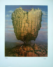 EUROPE signed/numbered Print by Jacek Yerka