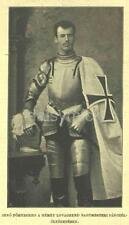 Archduke Eugen Of Austria 1894 Teutonic Knights Habsburg 7x4 Inch Reprint Photo