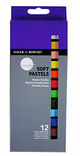 Daler Rowney Einfach Kunst & Handwerk Weiche Pastelle Set 12 Verschiedene