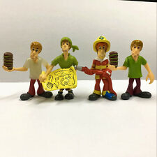 4pcs/set Scooby Doo Crew Mystery Mates & The Monsters Mega Movies Toy Figure