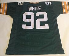 Reggie White Green Bay Packers Unsigned Custom Green Jersey