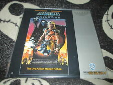 Masters of the Universe Laserdisc LD He Man Dolph Lungren  Free Ship $30 Orders