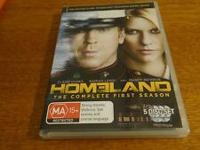 HOMELAND THE COMPLETE FIRST SEASON DVD *BARGAIN PRICE*