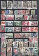 FRANCE FRENCH COLONIES 1900s 1930s COLL OF 234 MINT VARIOUS COLONIES HINGED