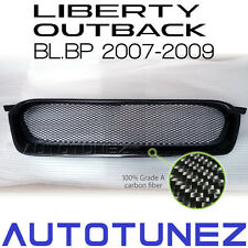 Carbon Fiber Car Front Grill For Subaru Outback Liberty STI BL BP 2007-2009 TU