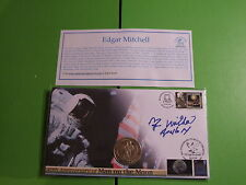 BUCKINGHAM COIN MEDAL COVER APOLLO 14 SIGNED EDGAR MITCHELL LTD ED OF 200 ONLY