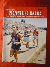 PREFONTAINE CLASSIC PRE 2000 PROGRAM Oregon Nike Track Eugene Hayward