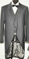 """NEW WITH TAGS GARY ANDERSON SAVILE ROW LIGHT GREY THREE PIECE MORNING SUIT 42"""" R"""