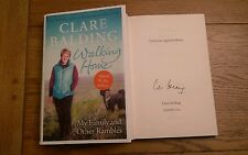 Walking Home My Family, and Other Rambles EXCLUSIVE SIGNED Clare Balding 1st/1st