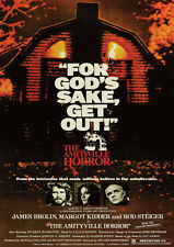 Amityville Horror Reproduktion Film POSTER