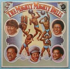 DELLS ~ MIGHTY MIGHTY DELLS ~ 1974 UK 10-TRACK LP RECORD ~ CHESS 9109 100