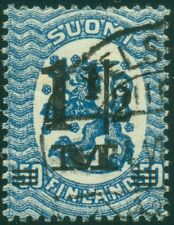 FINLAND #126a (96v2), 1½m on 50p, THIN 2 variety, VF, used