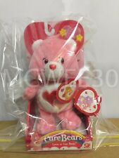 BNIB Care Bears 6 inches VALENTINE'S DAY LOVE-A-LOT BEAR Classic Plush ONE ONLY!