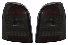 LED taillights set in Black SMOKED for AUDI A4 B5 AVANT wagon LIGHTS 96-01