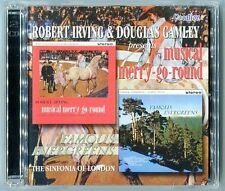 Robert Irving & Douglas Gamley Musical Merry-Go-Round / Famous Evergreens 2 x CD